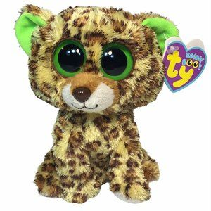 Ty Beanie Boos Baby Speckles Leopard Plush 6in.
